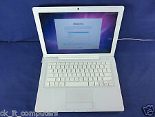 "Apple MacBook WHITE 13"" / Dual Core 2GHz / 120GB / 2GB /CAM / OSX 10.7"