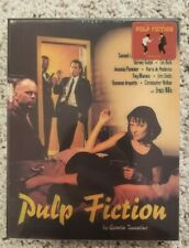 PULP FICTION Novamedia Steelbook Blu-ray LENTICULAR SLIP Nova New RARE SOLD OUT!