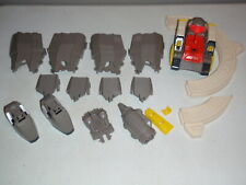 Part Lot 1985 Transformers G1 Omega Supreme Track Body Armour Parts Etc