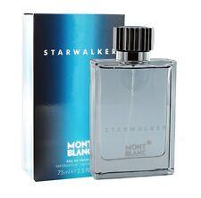 Mont Blanc Starwalker Men 2.5 oz 75 ml *Eau De Toilette* Spray Nib Sealed