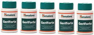 5 Bottles Himalaya Geriforte Tablets - Exp 2023