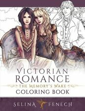 Victorian Romance Adult Colouring Book Fantasy Mystical Enchanted Magical Fairy