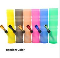 Foldable Silicone Tobacco Bong Portable Washable Tobacco Hookah Water Pipe