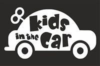 Kids in the car  Car Surf Vinyl Decal Sticker EURO JDM DUB VW Funny Jap