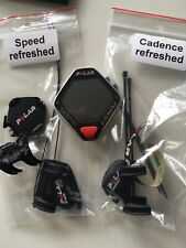 CS500 Polar Speedometer Fahrradcomputer  mit Speed und Cadence Sensor