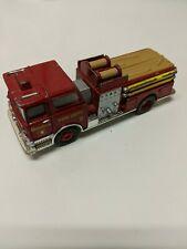 Corgi Mack Of Pumper Boston Fire Department No.2 Red