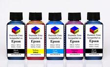 Refill Drucker Tinte Nachfülltinte für CISS Epson Stylus T0711 - T0714 kein OEM