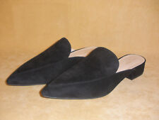 New Black Suede Piper Mules by Cole Haan w/ Box - Size 9.5