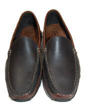 ALLEN EDMONDS Boulder mens 2 tone black brown loafers casual 9D