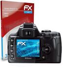 atFoliX 3x Screen Protection Film for Nikon D40X Screen Protector clear