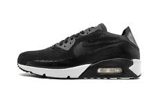 Nike Air Max 90 Flyknit 2.0 BLACK WHITE TRIPLE 875943-004 sz 11.5 Running Retro