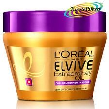 LOreal Elvive Extraordinary Oil Curl Nourishment Masque Hair Mask Pot 300ml