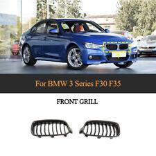 Carbon Fiber Front Kidney Grill Grille For BMW F30 F35 320i 328i 330i 335i 13-18
