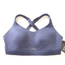 Victorias Secret Sport VSX Lightweight Wireless Mesh Keyhole Sports Bra L Blue