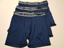 Calvin Klein Comfort Microfiber Boxer Brief - Medium - Blue - NB1361 - 3 Briefs