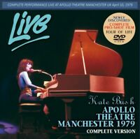 KATE BUSH / APOLLO THEATRE MANCHESTER 1979 COMPLETE VERSION DVD heathcliff