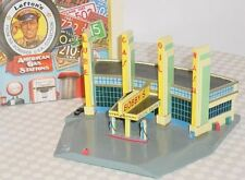 BOBBYS GAS STATION QUICK SERVE CAR WASH 24 HR Lefton Roadside 1995 MIB HO Scale
