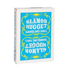 CARTE DA GIOCO GLAMOR NUGGET LIMITED BLUE EDITION,poker size