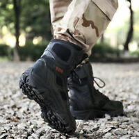 Men's Light High Top Shoes Running Sneakers Fashion Tactical boots Big Size