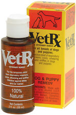 Vet Rx Dog Puppy 2oz Veterinary Remedy Colds Cough Wheezing Sniffles Ear Mites