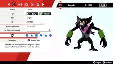 Zarude Dada Form 6 IV BR + Masterball Pokemon Sword Shield Pokemon Spada Scudo