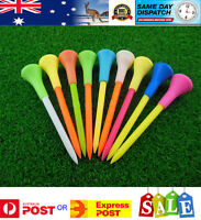 50 Plastic & Rubber Cushion Top Golf Tees 83mm - High Quality - Fast Dispatch