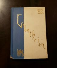 Hyde Park High School Yearbook 1893 Chicago  Nice 1st Year