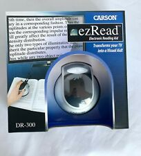 Carson EZ Read Electronic Reading Aid Magnifier DR-300 NEW