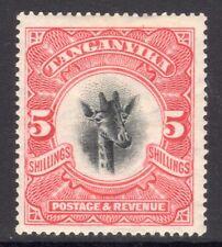 TANGANYIKA 1922 5s Giraffe wmk sideways M, SG 86 cat £95