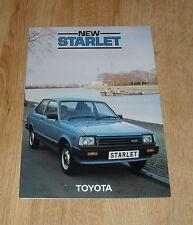 Toyota Starlet Brochure 1983 - 1.0 GL