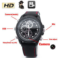HD 1280x960 Espía Muñeca DV Reloj Vídeo Cámara Oculta DVR Grabadora Exquisito