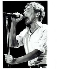 "1996 Original Photo lead singer Roger Daltrey of rock band ""The Who"" in concert"