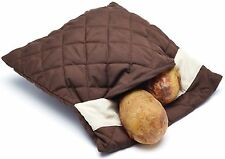 Kitchen Craft Microwave Cooking Jacket Baked Potato Reusable Bag Baker Pouch