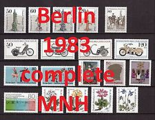 Berlin Complete Year 1983/1984 MNH Stamps, Mi. 689-729, Germany, 2 pictures