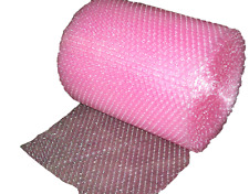 "3/16"" Anti-Static Small Bubble Cushioning Wrap Padding Roll 100' x 12"" 100Ft"
