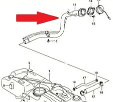 Brand NEW Genuine Suzuki Swift 05>11 Petrol Fuel Filler Pipe 89201-62J11 INSTOCK