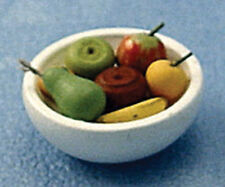 Dolls House Miniature Bowl of Fruit in 12th Scale
