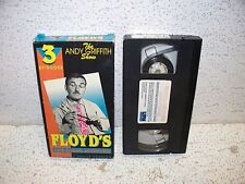 The Andy Griffith Show Floyd's Hair-Raising Adventures VHS Video Out of Print