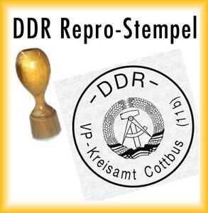 DDR Siegel - DDR Stempel - VP-Kreisamt Cottbus (11b)