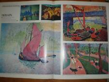 Article French modernist painter Andre Derain 1967