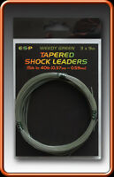 ESP Tapered Shock Leaders 15lb - 40lb 9m *Both Colours* *PAY 1 POST*