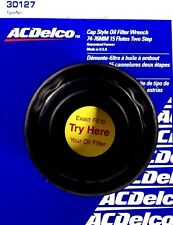 """ACDelco Cap Style Oil Filter Wrench 74-76MM 15 Flutes 2-Step 3/8"""" Dr 30127 *USA*"""