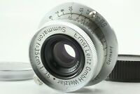 [EXC+++++] Leica Leitz Summaron 3.5cm 35mm F/3.5 Lens L39 Mount from Japan #093