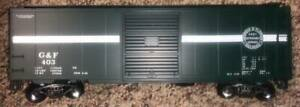 [106] WEAVER BUFFALO CREEK GRAPHICS GEORGIA & FLORIDA PS-1 40' BOXCAR 403 2-RAIL