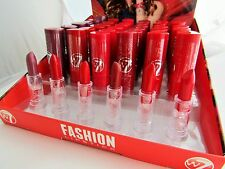 W7 Fashion Moisturising Lipstick Lip Make Up 6 Colours REDS