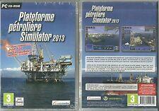 JEU PC - PLATEFORME PETROLIERE SIMULATOR PETROL GAZ / NEUF EMBALLE - EN FRANCAIS