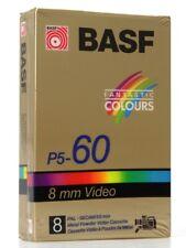 BASF P5-60 Video Cassette caméscope 8 mm Video PAL SECAM  (Réf#F-364)