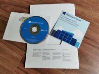 Genuine Microsoft Windows Server Standard 2016 64bit (DVD & COA) - 2 CPU 16 Core