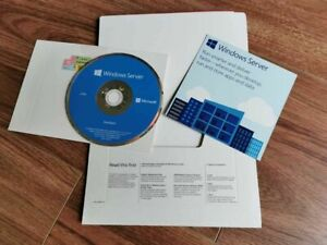 Genuine Microsoft Windows Server Standard 2016 64bit (DVD & COA) - 2 CPU 16 Core