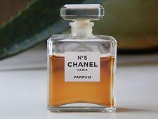 CHANEL NO. 5 PARFUM 1/4 OZ BOTTLE PERFUME